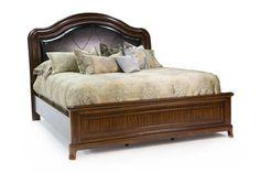 Cityscape Queen Sleigh Bed