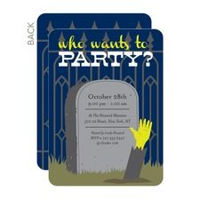 I'm In Halloween Invitations