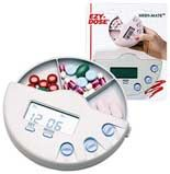 Multi-Alarm Pill Boxes. Pinned by OTtoolkit.com. Treatment plans and patient handouts for the OT working with physical disabilities and geriatrics.