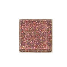 PINK RAINBOW GLITTER GLASS TILE available at www.MarylandMosaics.com