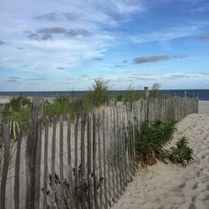 View of Brooklyn Beach, Cape May, New Jersey