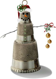 """""""Thimble Ornament"""" by telynor on Polyvore"""