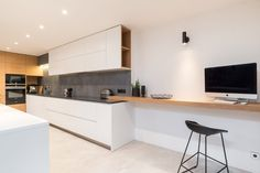 Grey & Wood Apartment by Oooox