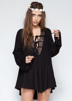 #Wasteland                #love                     #Wasteland #Dresses #ShopWasteland.com #Love #Lemons #Dreamer #Tent #Dress    Wasteland Dresses - ShopWasteland.com - For Love & Lemons Dreamer Tent Dress                            http://www.seapai.com/product.aspx?PID=460882