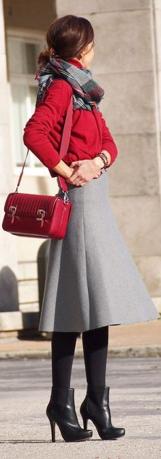Discover and organize outfit ideas for your clothes. Decide your daily outfit with your wardrobe clothes, and discover the most inspiring personal style Modest Outfits, Skirt Outfits, Modest Fashion, Cute Outfits, Fashion Outfits, Winter Office Outfit, Fall Winter Outfits, Autumn Winter Fashion, Office Outfits