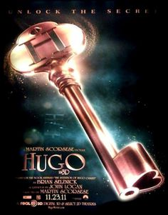 Movie recommendation: Hugo Directed by Martin Scorsese. (Produced by Johnny Depp). Adapted from children's novel by Brian Selznick. Starring Ben Kingsley, Asa Butterfield, Chloe Grace Moretz, Christopher Lee, Jude Law and Sacha Baron Cohen. Movie Posters, Steampunk Movies, Johnny Depp Movies, Hugo Cabret, Kids Novels, Movies, Movie Characters, Movies Worth Watching, Tv Musical