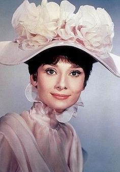 """My Fair Lady"", Audrey Hepburn Audrey Hepburn Quotes, Audrey Hepburn Style, My Fair Lady, Movie M, Eliza Doolittle, Cecil Beaton, Woman Movie, Famous Movies, Style And Grace"