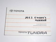 2007 hyundai sonata owners manual book guide owners manuals rh pinterest com 2003 toyota tundra sr5 owners manual 2000 toyota tundra owners manual