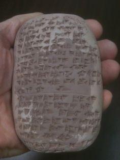 Waldorf ~ 5th grade ~ Ancient Mesopotamia ~ Writing Cuneiform ~ Some Homemade Tablets