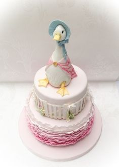 Jemima Puddle Duck - Cake by Samantha's Cake Design - CakesDecor