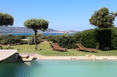 #Corsica: between the Ile Rousse and Calvi, on a great location near the beach, Very nice property, with a splendid sea view in a quiet and preserved place.