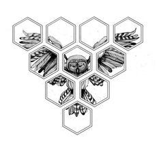 Hexagon owl