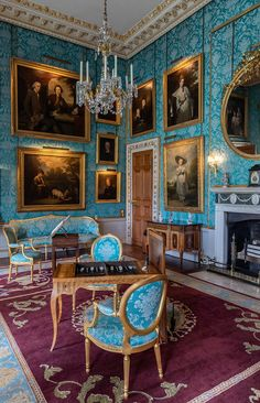 Castle Howard, English Manor Houses, Royal Palace, Households, House Interiors, England, Homes, Deco, Painting