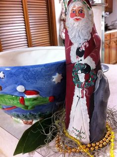Cypress knee Santa!
