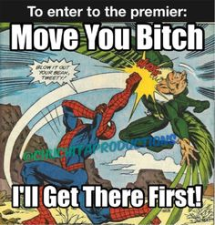 Go to the premier 🎥: Spider-Man Homecoming  Speidy Meme / Momo