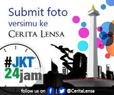 Submit foto dengan Tema Jakarta 24 Jam ke http://ceritalensa.beritasatu.com . Hashtag #JKT24Jam. Tema tentang kota Jakarta,landmark, landscape dan kehidupannya