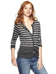 $69.95 LOVE OBExclusive Gap + Clu striped cardi | Gap