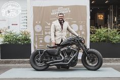 Gentleman 48 Harley bobber