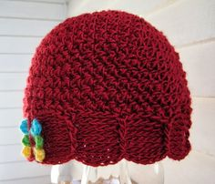 Mr. Micawber's Recipe for Happiness: Scalliope Hat ~ a Free Crochet Pattern & Tutorial