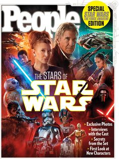 People Magazine - Star Wars: The Force Awakens, Dec 2015