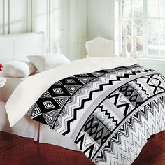 DENY Designs Home Accessories   Kris Tate Wipil 3 Duvet Cover on Wanelo