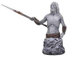 It's The Game of Thrones Mini Bust - White Walker. White Walkers, or the Others, are a fierce mythological race who are seldom seen as they lurk and prey in their land in the frozen north of Westeros. Hades, Dark Horse Comics, White Walker, Game Of Thrones Collectibles, Game Of Thrones Merchandise, Horse Games, Shops, Hbo Game Of Thrones, Mother Of Dragons