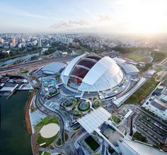 The Singapore Sports Hub, designed by DP Architectsin collaboration with Arupas the structural engineer, has been awarded the Supreme Award for...