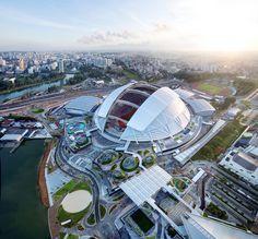 """Centro Deportivo de Singapur es nombrado """"Mejor Proyecto de Ingeniería de 2015"""""""
