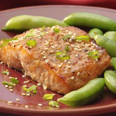 The Best Healthy Fish Recipes - Broiled Salmon with Miso Glaze