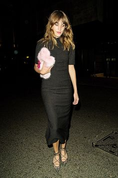 Alexa Chung attends The Business of Fashion celebrating the #BOF500 on September 15, 2014 in London, England.
