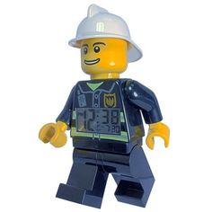 Lego wekker alarmklok `brandweer`