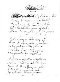 """Federico García Lorca, inédito: """"Buddha"""" (manuscrito y transcripción) - Read more: http://bibliotecaignoria.blogspot.com/2012/02/federico-garcia-lorca-inedito-buddha.html#ixzz2M6ozByeK"""
