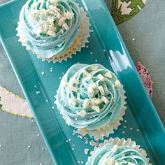 """If there is a rival to Wedding Cake, it is our Over the Moon cupcake. We make it with an oh-so-rich vanilla bean paste that gives it an """"out of this world"""" flavor. One customer said that it tastes like it was kissed by an angel."""