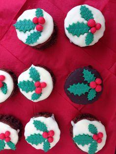 Mini-Weihnachtskuchen