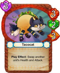 Tacocat - Catamancer - The 100% cat themed game! - Artist: Eric Proctor (TsaoShin)
