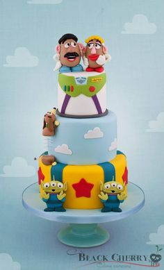Toy Story Wedding Cake - Black Cherry Cake Company