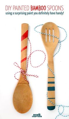 18 gift ideas for creative people - Cheap wooden spoons for craft ...