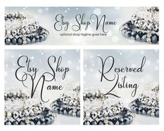 ON SALE  Etsy Cover Photo  Etsy Shop Covers  Jewelry by RhondaJai