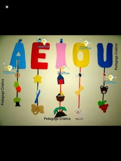 Class Decoration, School Decorations, Diy And Crafts, Crafts For Kids, Paper Crafts, Alphabet Activities, Preschool Activities, Preschool Kindergarten, Kids Education