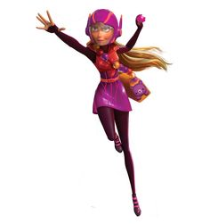 Honey Lemon is a member of Big Hero 6. To be added