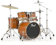 New & Factory Sealed Pearl EXL Export Lacquer Series EXL705/C249 Amber Shell Pack - Includes 5 Drums Total: 22x18 Bass Drum, 10x7 Tom and 12x8 Toms w/Optimount, 14x14 Floor Tom with Legs, 14X5.5 SNARE -   FREE Ship Continental USA - Also Ships to Alaska & Hawaii! http://stores.ebay.com/music-for-all-03   http://www.musicforall.biz/