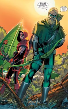 The arrow and arsenal