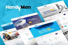 Handyman Repair & Maintenance Theme - Business