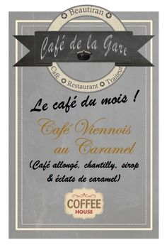 Café du mois : café viennois caramel Café Restaurant, Caramel, Personalized Items, Whipped Cream, Train Station, Catering Business, Sticky Toffee, Candy, Fudge