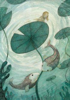 Linda Olafsdottir - Illustration & Fine art: New Illustrations from Thumbelina