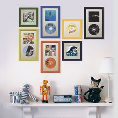 CD and CD cover frame