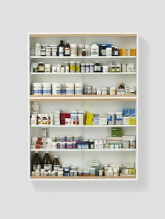 Damien Hirst - Medicine Cabinets I can't understand why most people believe in medicine and don't believe in art, without questioning either. -- Damien Hirst, 1997