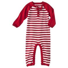 Cherokee® Newborn Boys' Coveralls - Red : Target Mobile