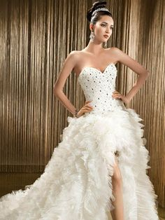 My wedding party dress but more diamonds and rocks need to be added to that corset lol