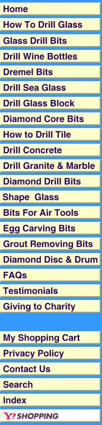 how to drill glass